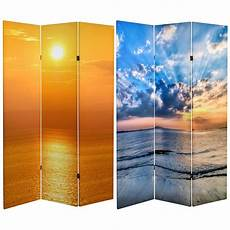 6 ft printed 3 panel room divider can sun the home depot