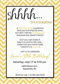 Invite To A Party Wording Wording For Surprise Birthday Party Invitations Drevio