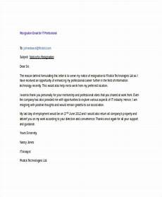Resignation Email Sample Free 27 Resignation Email Examples In Doc Google Docs