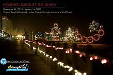 Boardwalk Lights At Virginia Beach Mcdonalds Holiday Lights At The Beach Virginia Beach
