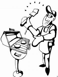 Malvorlagen Kostenlos Grillen Mann Beim Grillen 4 Ausmalbild Malvorlage Sport