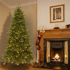 7 5 Foot Dual Light Christmas Tree 7 5 Pre Lit Deluxe Artificial Christmas Tree With Memory