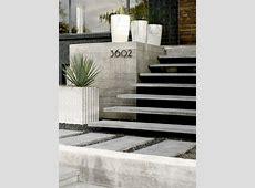 Landscape architecture: Cantilevered steps.     Concrete