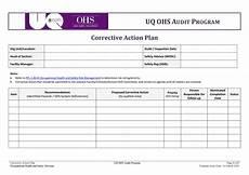 Corrective Action Plan Form 45 Free Action Plan Templates Corrective Emergency