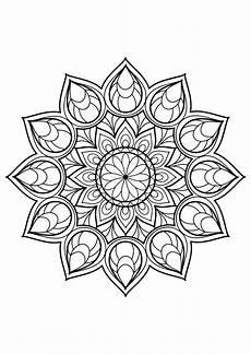 Mandala Malvorlagen Novel Magnificent Mandala From Free Malbuch F 252 R Erwachsene