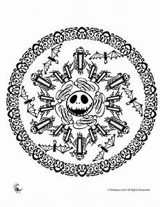 halloween mandala coloring pages halloween mandala coloring pages jack skellington