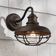 Caged Patio Lights Franklin Park Metal Cage 9 Quot High Bronze Outdoor Wall Light