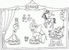 ausmalbilder zirkus malvorlagen lustige malvorlagen