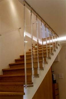 corrimano plexiglass poliart scale in plexiglass