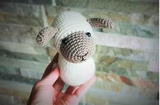 happyamigurumi amigurumi sheep pattern in process