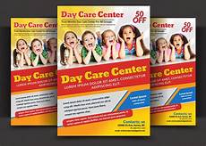 Day Care Ad Daycare Flyer Templates Flyer Templates Creative Market