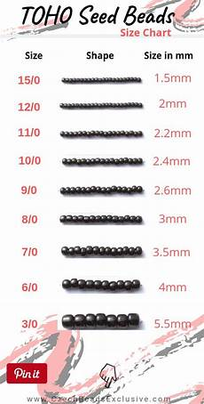 Toho Seed Bead Size Chart What Is Toho Japanese Seed Beads Size Shape Amp Color