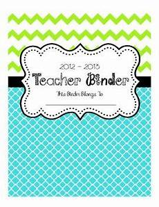 Gradebook Cover Teacher Binder Cover Divider Pages Gradebook Pages