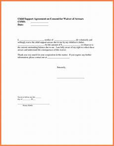 Child Support Letters 9 Sample Child Support Agreement Letter Template