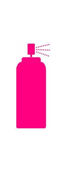 pinkhairspray clip at clker vector clip