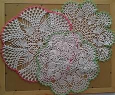 crochet knitting doilies