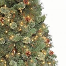 Martha Stewart Living Christmas Tree Lights Martha Stewart Living 7 5 Ft Alexander Pine Quick Set