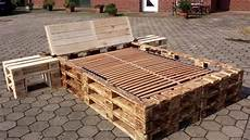 How To Make A Pallet Bed Frame With Lights How To Make Pallet Bed Frames Youtube