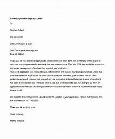 Credit Application Approval Letter 8 Credit Rejection Letter Free Sample Example Format