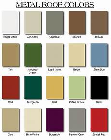 Tin Roofing Color Chart How To Pick The Right Metal Roof Color Consumer Guide 2018