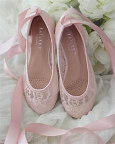Light Blue Satin Flats Light Pink New Lace Ballerina Flats With Satin Ribbon Lace
