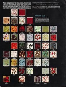 Ceramic Paint Color Chart Ceramic Painters Web Site Duncan Old Discountinued Color