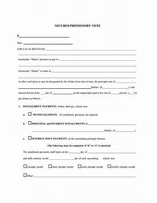 Unsecured Promissory Note Template 45 Free Promissory Note Templates Amp Forms Word Amp Pdf ᐅ