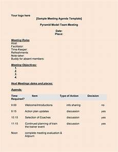 Agenda Layout Examples 46 Effective Meeting Agenda Templates Template Lab