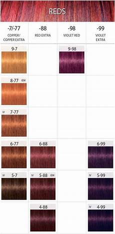 Schwarzkopf Igora Color 10 Chart 10 Magnificent Copper Red Hair Colour Chart Stock In 2019
