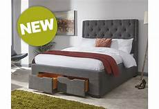 gfw furniture koln drawer bed 135cm grey beds from