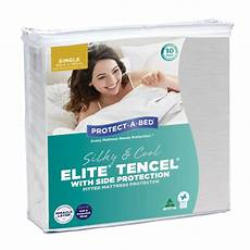 tencel 174 with side protection elite mattress protectors