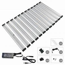 eshine 12 panels 12 inch led dimmable cabinet