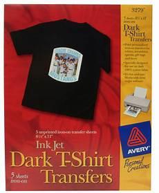 T Shirt Transfer Avery 25006411 T Shirt Transfers Dark Inkjet