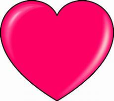 Pink Hearts Pictures Heart Free Stock Photo Illustration Of A Pink Heart