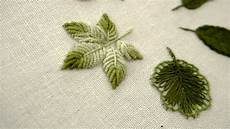 embroidery leaves embroidery leaves for beginners 06 types of leaves