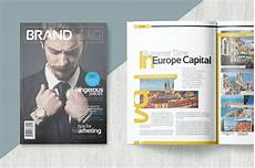 Magazine Template Magazine Template By Becreative On Envato Elements