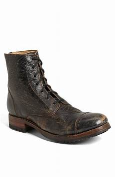 bed stu protege cap toe boot in black for lyst