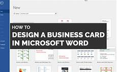 Business Cards In Word How To Make Business Cards In Word Amp Why You Shouldn T