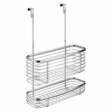 interdesign axis the cabinet storage basket in chrome