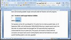 Thesis Proposal Template Word Pt 1 Of 3 Thesis Template From Word Youtube