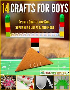 14 crafts for boys sports crafts for