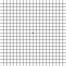 Amd Eye Chart Amsler Grid Free Macular Degeneration Test