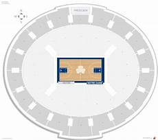 University Of Notre Dame Stadium Seating Chart Joyce Center Notre Dame Seating Guide Rateyourseats Com