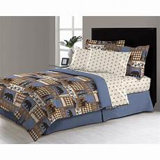 manitoba trail 8 bed in a bag comforter set