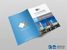 Bifold Flyer Bifold Flyer Mockup Templates Vol 001 By Ones212 Codester