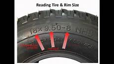 Tire Size Chart Explained Lawnmower Tires How To Read The Numbers On The Sidewall