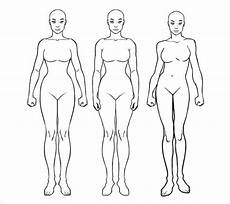 Outline Of A Female Body Template Blank Body Chart Free Download Aashe