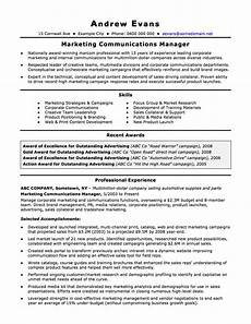 Resume Example Australia The Australian Resume Joblers