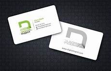 Advertising Agency Visiting Card Design Modern Bold Business Business Card Design For A Company