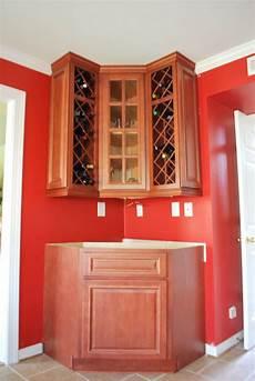 envy kitchens 804 551 6840 custom corner wine rack